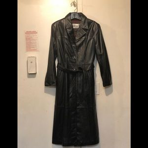 NWOT Wilsons Leather Trench Coat